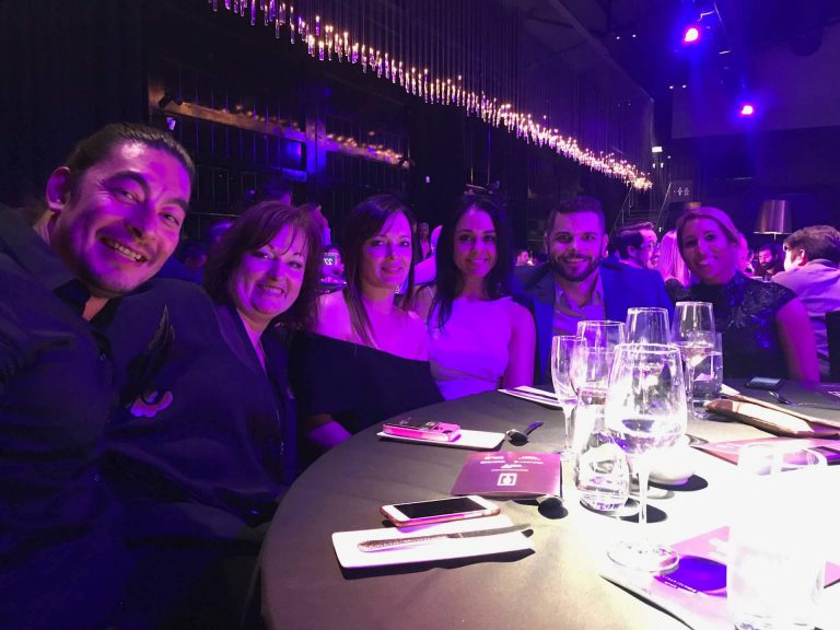 GHO Team at 2017 AMY Awards